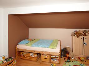 Maler strobl vorher nachher for Kinderzimmer im keller